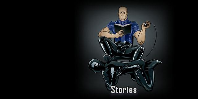 Rubber bondage stories